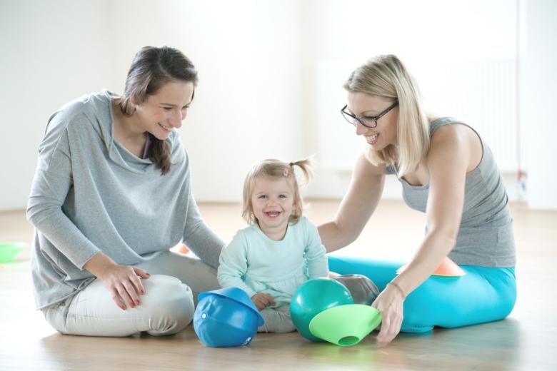 Cvičení pro děti s maminkami 18 m – 2 let