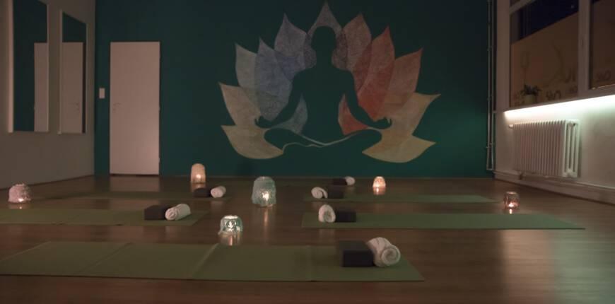 Relaxační jógová zóna